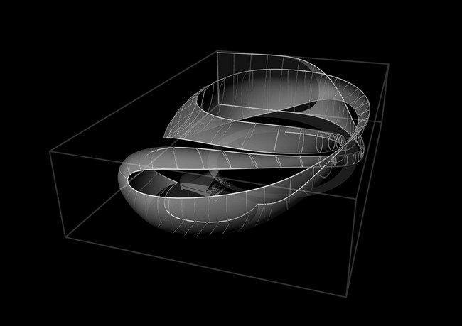 Зал камерной музыки. 3D-модель