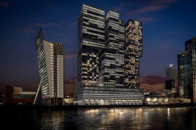 Комплекс De Rotterdam © OMA