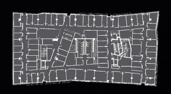 Центр астрономии и астрофизики Кэхилла. План 2-го этажа © Morphosis