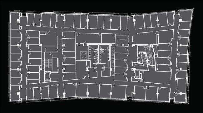 Центр астрономии и астрофизики Кэхилла. План 3-го этажа © Morphosis
