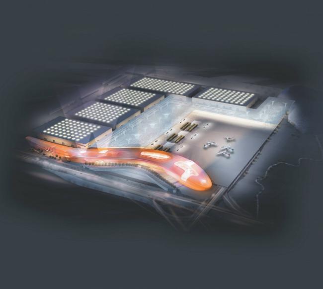 Экспофорум. Первый вариант проекта, 2009 © SPEECH, Евгений Герасимов и партнеры
