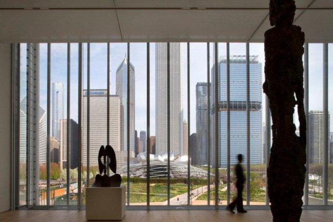 Современный корпус Чикагского Института Искусств © RPBW