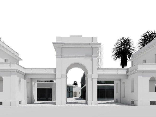 Рынок Меркати Дженерали - реконструкция. Проект 2009 года