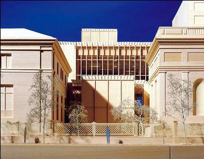 Библиотека Моргана - реконструкция. Проект. Макет