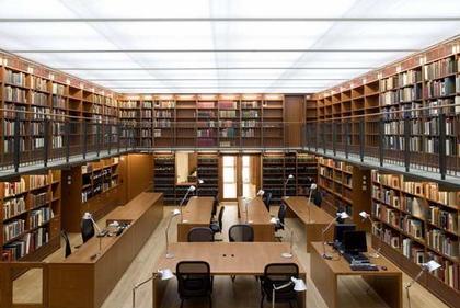 Библиотека Моргана - реконструкция