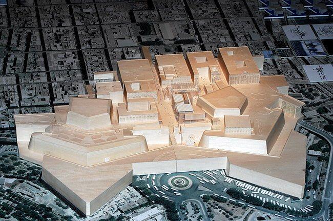 Валлетта – реконструкция исторического центра © RPBW