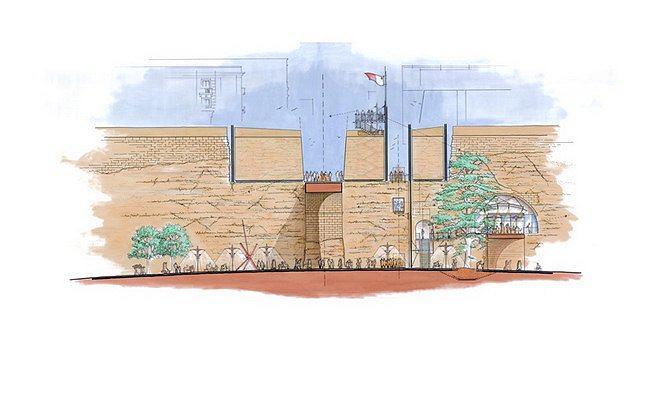 Валлетта – реконструкция исторического центра. Ворота и крепостная стена © RPBW