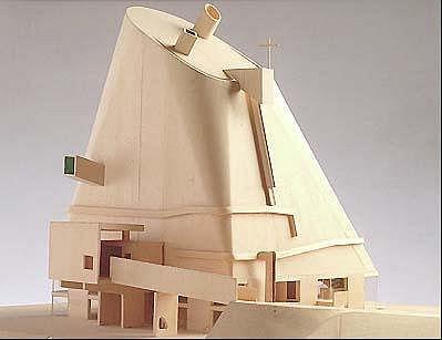 Оригинальный макет церкви