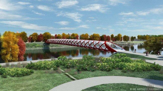 Мост Мира © Santiago Calatrava