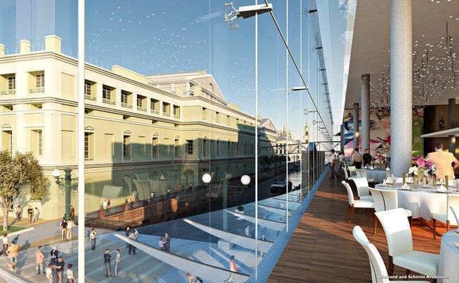Новое здание Мариинского театра (Мариинка-2). Проект бюро «Даймонд & Шмитт»