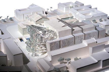Новое здание Мариинского театра. Проект Э. Мосса