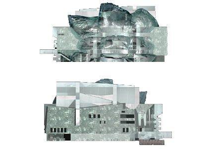 Новое здание Мариинского театра. Проект Э. Мосса. Фасады