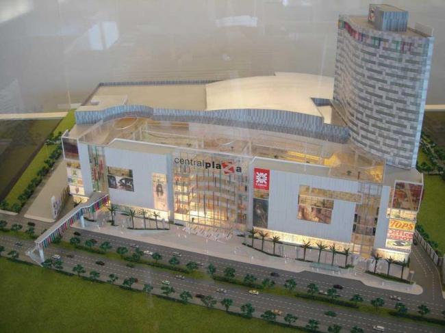 Торговый центр CentralPlaza. Макет © Manuelle Gautrand Architecture