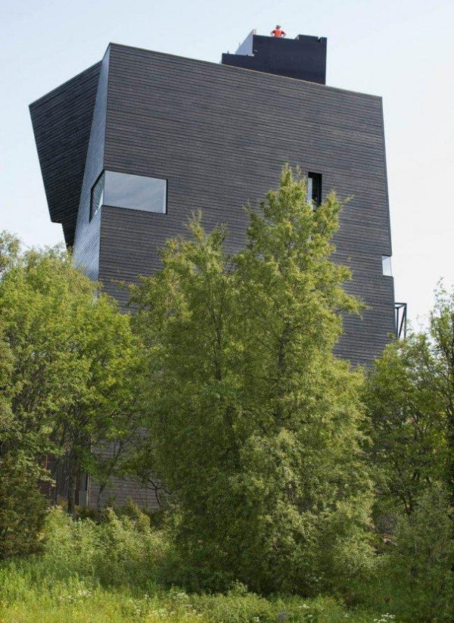 Центр Кнута Гамсуна. Фото © Ernst Furuhatt/Salten Museum