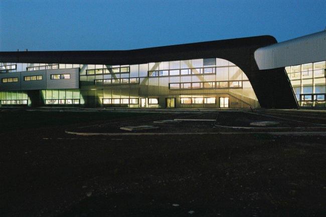 Центральное здание завода BMW. © BMW AG Martin Klindtworth