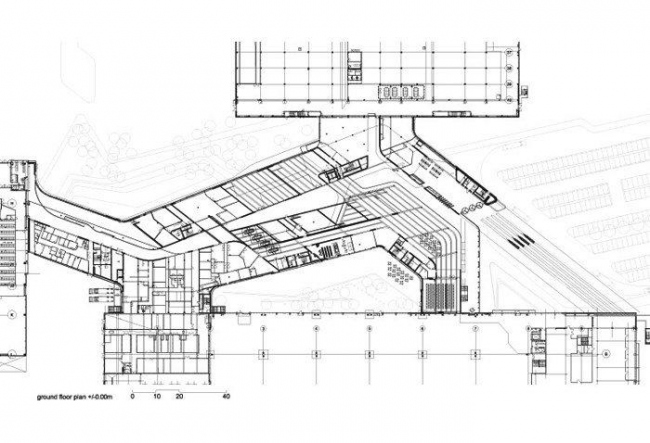 Центральное здание завода BMW © Zaha Hadid Architects