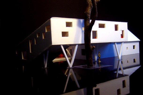 Дом-спираль ©  Powerhouse Company