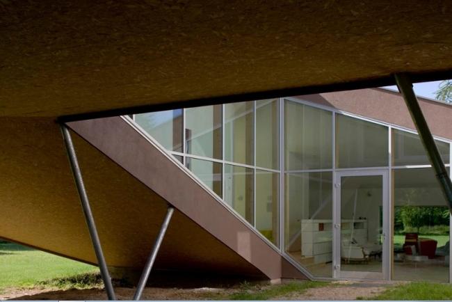 Дом-спираль ©  Stephane Chalmeau