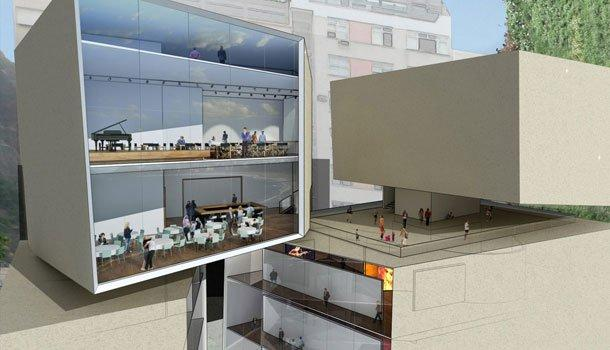 Конкурсный проект Bernardes & Jacobsen