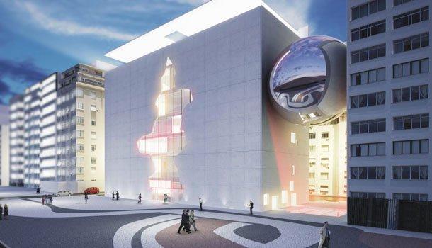Конкурсный проект Brasil Arquitetura