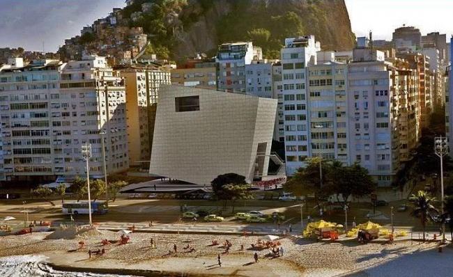 Конкурсный проект Tacoa Arquitetos