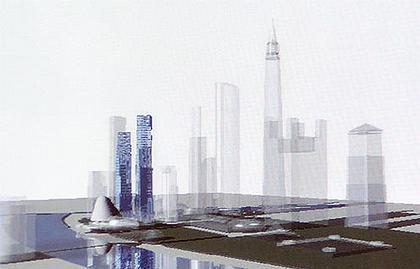 «Город столиц» в составе ансамбля «Москва-Сити»