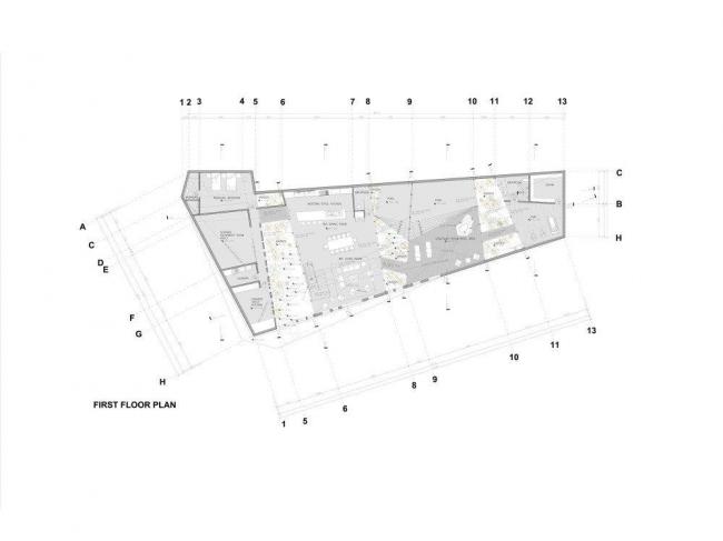 Вилла N 67 комплекса Ордос-100. План 1-го этажа