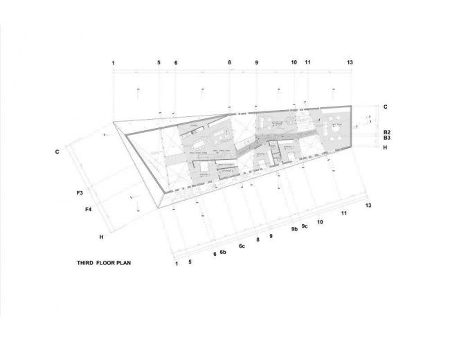 Вилла N 67 комплекса Ордос-100. План 3-го этажа