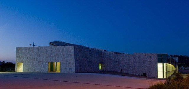 Город культуры Галисии. Национальный архив. Фото © Manuel Gonzales Vicente. Courtesy Fundacion Cidade da Cultura de Galicia