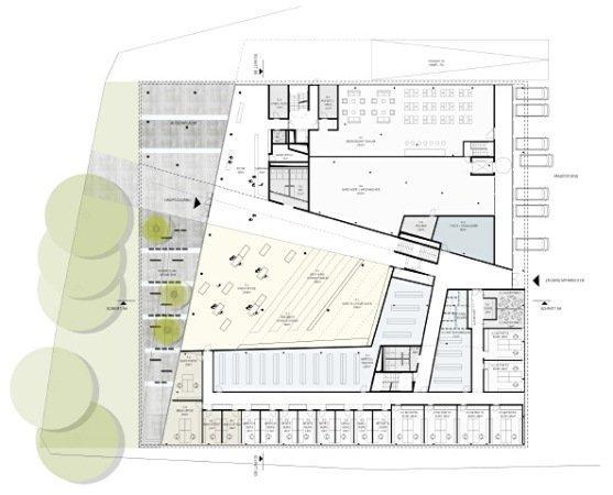 Штаб-квартира Bestattung Wien GmbH и Friedhofe Wien GmbH