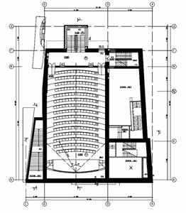 Кинотеатр «Баррикады». План