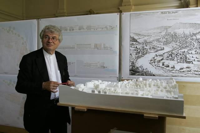 Марио Ботта со своим проектом