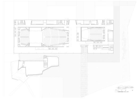 Центр выставок и конгрессов. План 1-го этажа