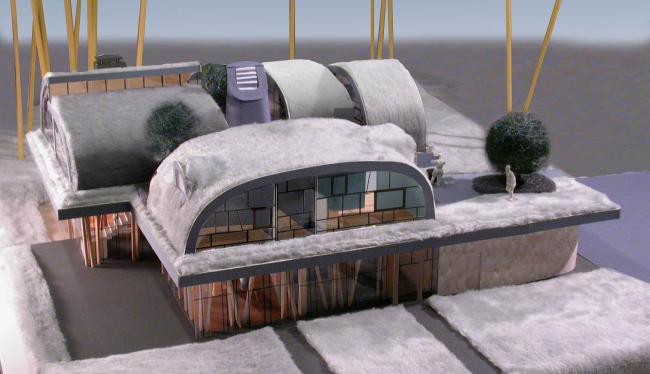 Индивидуальный жилой дом «Новая земля»