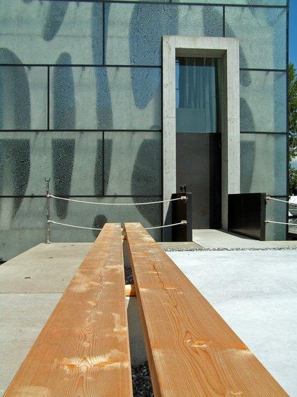 Яхт-клуб Ронер, Фуссах, Австрия.2008, арх.бюро К.Баумшлагер/Д.Эберле. Фото: Надежда Щема