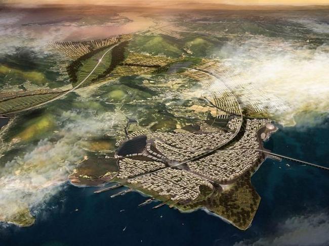 Свободная экономическая зона Инчхона - генплан расширения