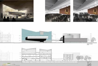 Рафаэль Монео. Новый конференц-центр в Цюрихе