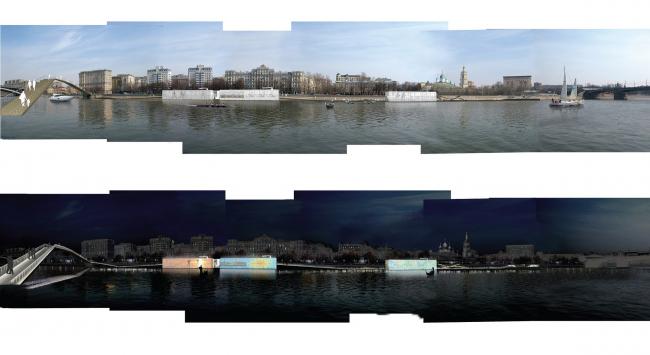 Панорамы Краснохолмской набережной