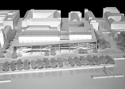 Йошио Танигучи. Новый конференц-центр в Цюрихе. Конкурсный проект.