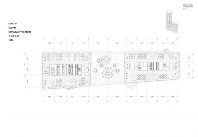 Шеньчженьский международный дом энергии. План 20 этажа
