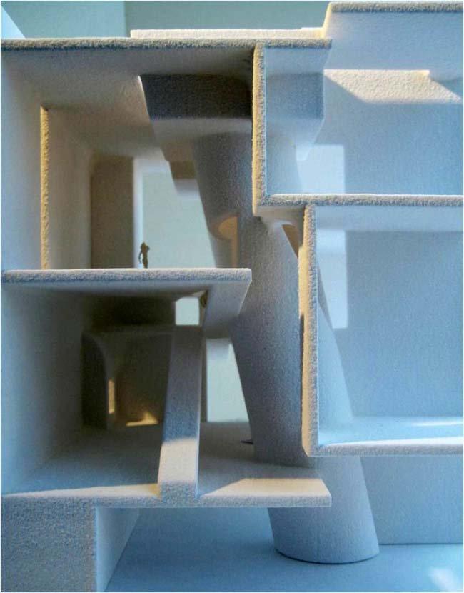Стивен Холл совместно с JM Architects. Новый корпус Школы искусств Глазго. Конкурсный проект