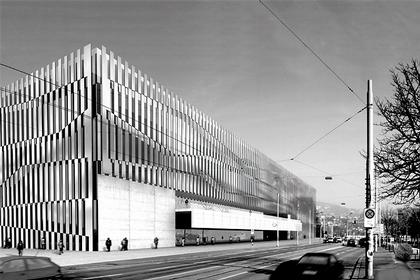 Ливио Ваккини. Новый конференц-центр в Цюрихе. Конкурсный проект