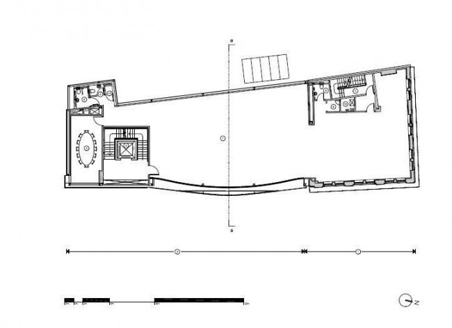 "Комплекс ""10 Hills Place"". План типового этажа © AL_A"