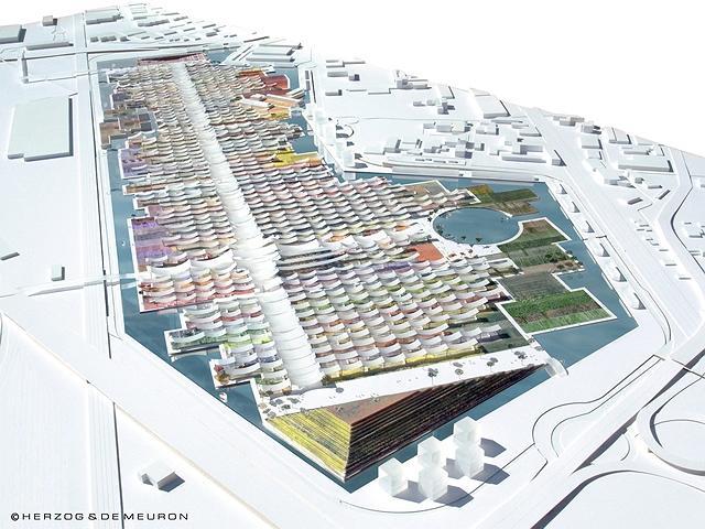 План комплекса ЭКСПО-2015