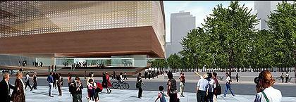 Культурный центр ЦМТ. Проект, май 2005 © Snøhetta