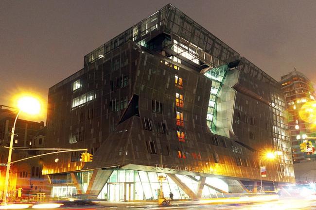 Новый учебный корпус Колледжа Купер-Юнион. Фото: Committee to Save Cooper Union via Wikimedia Commons. Фото находится в общественном доступе