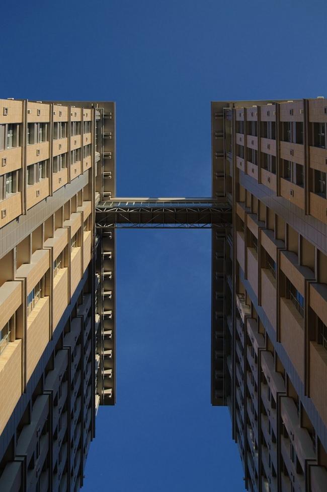 Жилой комплекс «Финансист» © Евгений Герасимов и партнеры