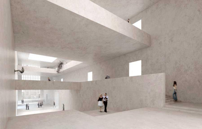 Кунстхаус Цюрих - новое крыло. Проект 2009 года