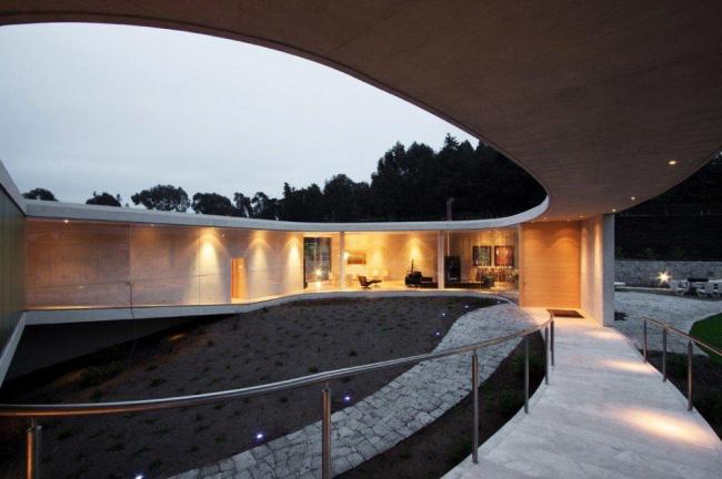Дом White O в Чили. Фото © Nicolas Saieh