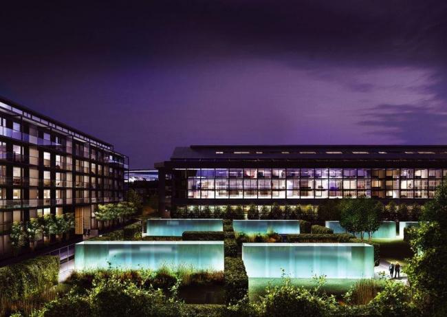 Жилой комплекс «Хайбери-Сквер». Проект © Allies & Morrison